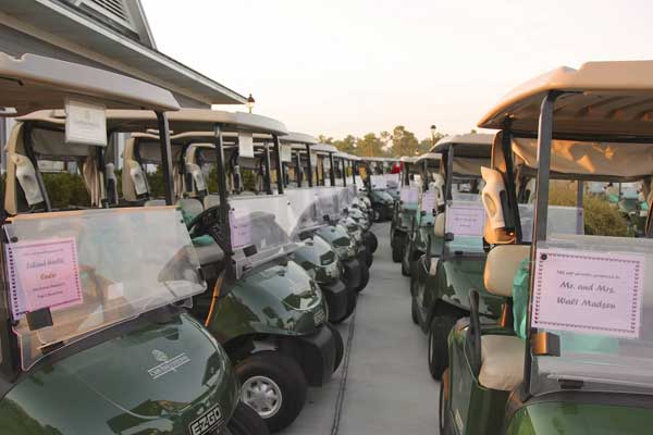 Golf Cart Sponsorship