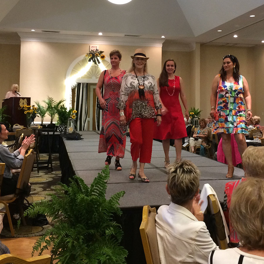 Blooming for a cause 2017 fashion show