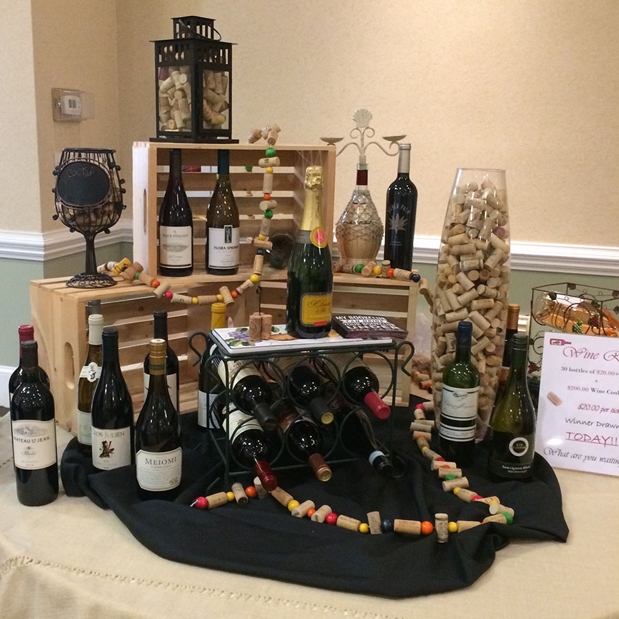 Blooming for a cause 2017 wine raffle